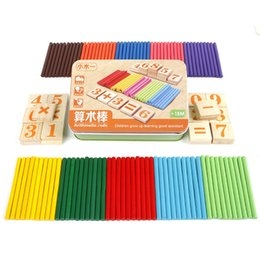 Wholesale Kids Wooden Numbers - Math Toy For Kids For Kids Child Wooden Numbers Math Early Learning Counting Game Educational Toys Lowest Price