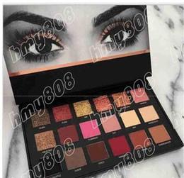 Wholesale Dark Shadows Makeup - New Makeup Eyes Textured Eyeshadow Palette 18 Colors Eye Shadow!