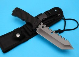 Wholesale Christmas Gift Pocket Knife - K1999 EXTREMA RATIO tactical knife 58HRC 8Cr13 blade G10 Handle fixed blade knife pocket hiking knives Christmas gift