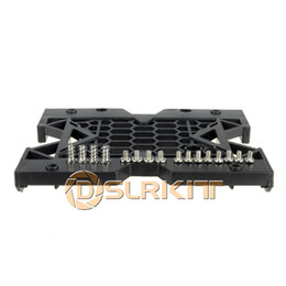 """Wholesale hard drive fans - Wholesale- 5.25"""" to 3.5"""" 2.5"""" SSD Hard Drive Adapter TRAY with Screws can mount Fan"""