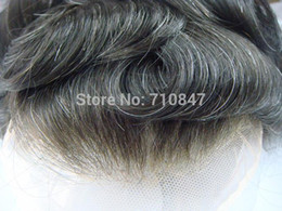 Wholesale Men Hair Toupee - Wholesale-New arrival , 100% indian remy hair all french lace hair replacement men toupee