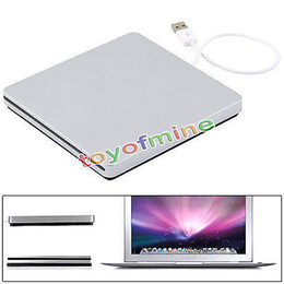 Wholesale Apple Usb Drive - Wholesale- High Quality USB External Slot in CD RW Drive Burner Superdrive for Apple MacBook Air Pro Laptop Notebook PC