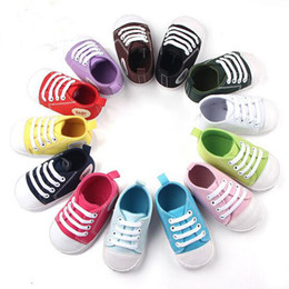 Wholesale Wholsale Sale - Hot Sale 13 Style Wholsale Kids Baby Sports Shoes Boy Girl First Walkers Sneakers Baby Infant Soft Bottom Walker Shoes