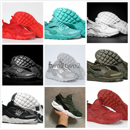 Wholesale canvas shoes size 12 women - 2017 New Air Huarache Running Shoes For Men & Women Sneakers Sport Huaraches Ultra Shoes Trainers Boost Size US 5.5-12