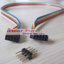 Wholesale Usb Extension Cable Motherboard - Wholesale- 1 piece ATX case Internal Motherboard mainboard host case USB male to female Extension Cable 8p retail wholesale