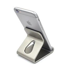 универсальный усилитель экрана мобильного телефона Скидка Новый сотовый телефон стенд держатель для iPad планшет для iPhone 7 6 6 S Plus 5 5S SE для Samsung Galaxy S6 S7 S8 Edge алюминиевый зарядное устройство стенд