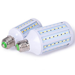 Wholesale 5w Led Bulb B22 - Ultra Bright Led Corn Light E27 E14 B22 E40 SMD 5630 Corn Bulbs 110V 220V 5W 12W 15W 25W 30W 40W 50W 4500LM LED Bulb 360 degree Lighting