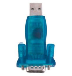 câble série rs232 Promotion Convertisseur série USB 2.0 vers RS232 9 broches pour Win7 / 8