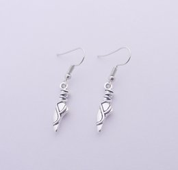 Wholesale Dance Shoes Charms - FREE SHIPPING Hot Sale Alloy Dance Shoes Cross Snow Earrings
