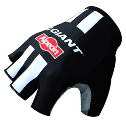 Wholesale Giant Cycle Gloves - NEW Giant Cycling Gloves Bike Bicycle Sport Gloves Guantes Ciclismo GEL pad Shockproof Gants Half Finger