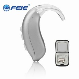 Wholesale Ear Digital Hearing Aid - Best quality ear sound voice amplifier Digital BTE Hearing Aid For Severe-Profound Loss MY-16 free shipping