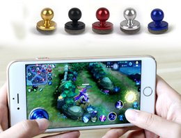 Wholesale Iphone Screen Multicolor - Newest Universal Mini Mobile Joystick Joysticks Samrtphone Game Rocker Touch Screen Joypad Controller For iPad iPhone 7 Samsung Free DHL