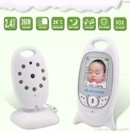 Wholesale Family Monitoring - New Digital Wireless Baby Caregiver Baby Monitor Monitor Care Device Two-way Intercom Temperature Display Music Player Family Must 1401008