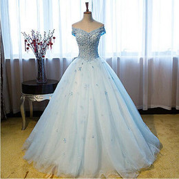 Wholesale Girls Fall Tulle Dresses - Hand Made Flowers Quinceanera Dresses 2017 Deep V-Neck Cap Sleeves Corset Back Masquerade Ball Gowns Dress Pearls Girls Sweet 16 Party Gowns