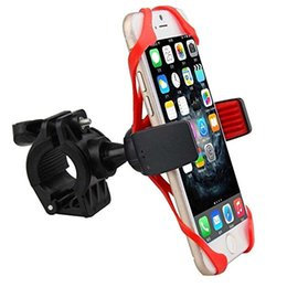 Wholesale Gps Case Bike - Waterproof Motorcycle Bicycle Bike Cycle GPS SAT NAV Leather Case Mount Phone Holder Phone Stand for iPhone 6 6s 6 Plus 7 7 Plus Samsung S7