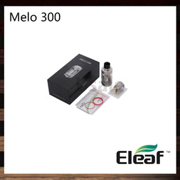 Wholesale Es Top - Ismoka Eleaf Melo 300 Atomizer 3.5ml 6.5ml Tank Convenient Retractable Top Fill System With ES Sextuple-0.17ohm Head 100% Original