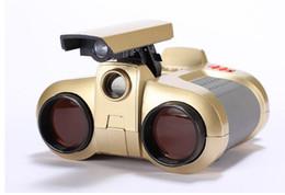 Wholesale Night Vision Wholesalers - Infrared Night Vision Binoculars 4x30 Adjustable Viewer Spy Security Scope High-Definition Green Film Binocular Telescope Children night