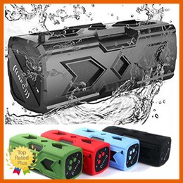 Wholesale Audio Power Line - Portable Mini Waterproof Outdoor Wireless Bluetooth Speaker NFC LED Car Audio with 3600mAh Power Bank