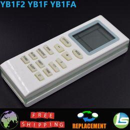 Wholesale Gree Remote - Wholesale- AC Remote Control YB1F   YB1F2   YB1FA For GREE GE TRANE WESTINGHOUSE MABE Air Conditioner