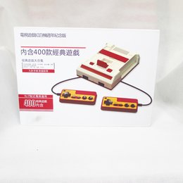 Wholesale Game Gba - Epacket shipping Antiquated classical mini family games handheld box TV game console 8bit video game 80 yesrs after fc console 400 games