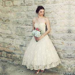 Wholesale Strapless Fold Wedding Dress - High-end custom-like white uneven folds strapless lace wedding dress 2017 skirt beach sexy dress custom wedding dress
