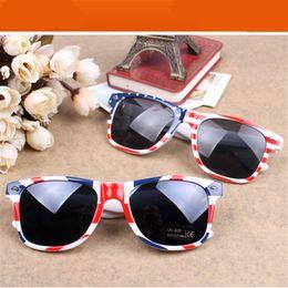 Wholesale Usa Mirror - Wholesale- Newest Fashion vintage sunglasses women brand Piphop Flag UK USA sun glasses feminine masculine sunglass female women's glasses