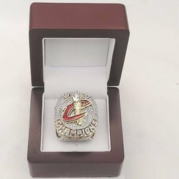 Wholesale Wooden Gift Box Set - New 2016 Cleveland James Basketball Championship Ring with Wooden box