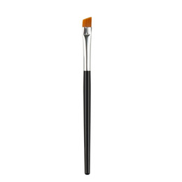 Wholesale Eyebrow Angle Brush - Wholesale-New Style 1Pc Professional Angled Eyebrow Eye Liner Beauty Makeup Tool Base Brush 2016 Hot Sale