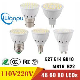 smd führte e27 48 Rabatt E27 E14 MR16 GU10 B22 Lampadas LED Birnen-110V 220V Bombillas LED Lampen-Scheinwerfer 48 60 80 LED 2835 SMD Beleuchtung
