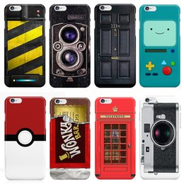Wholesale Iphone 5s Game Controller - Funny Retro Game Controllers Camera Police Box Case Cover for coque iphone 5 SE 5S 6S Plus PC Hard Back Cover Capinhas sleeve