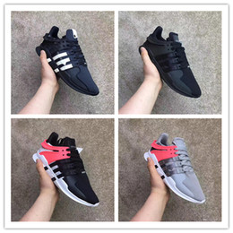 Wholesale Run Support - Original 2017 Hot EQT Support ADV Primeknit pink black white Running Shoes For Men And Women Sports Sneakers Size 36-45