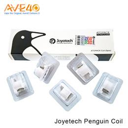 Wholesale Wholesale Dolphins - Joyetech Penguin SE Coil Head JVIC 0.25ohm   0.6ohm  1.2ohm fit Joyetech Penguin Starter Kit Joyetech Atopack Dolphin 100% Original