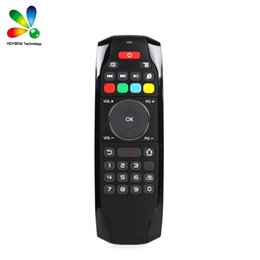 Wholesale sensor xbox - Smart Air Fly mouse G7 2.4GHz Air Keyboard Mouse TV Boxes Remote Control with IR Learning Function for Android Box Tablets Xbox