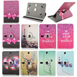 Wholesale cases for alcatel one touch - Wholesale-Rotating Leather Case 7.0inchFor Alcatel One Touch T10 Pixi 7 3G 7 inch Universal Tablet Cover For Alcatel Tablet Bag S4A92D