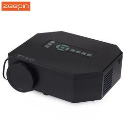 Dlp-проектор таблетки онлайн-Оптовая продажа-UC30 Mini Pico портативный телевизор светодиодный проектор AV VGA A/V USB SD с 3D HDMI для видеоигр TV Movie совместимость с телефоном Tablet PC