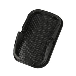 Wholesale Shelf For Cars - Wholesale- Anti Non Slip Pad Mat Skidproof Holder Stand Shelf For GPS Cell Phone For iPhone Auto Car