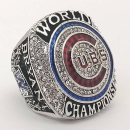 Wholesale New Arrivals More - New Arrivals 2016 Chicago Cubs world Championship Rings Bryant name Size 8-13 (More than 20pcs DHL free shipping)
