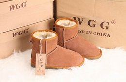 Wholesale Boots Work - High Quality 2015 new Women's Classic tall WGG style snow boots Winter boots Warm With box certificate dust bag