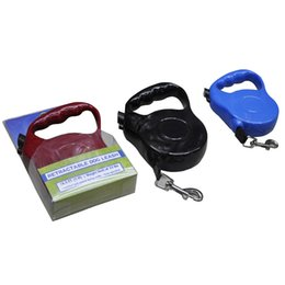 Wholesale Automatic Pet Dog Traction Rope - High Quality New Pet Extensible Harness Leashes Traction Rope for Dogs 5M Automatic Dog Collar Belt Pet Traction Ropes