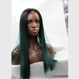 Wholesale Cosplay Wigs For Cheap - The Avengers costume pastel wig ombre heat resistant synthetic wigs lace front wig cheap cosplay wigs for womens hair style straight