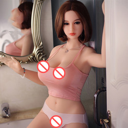 Wholesale Small Sex Doll Man - 158 cm Top quality Japanese smart warming and sounds full silicone sex doll for men lifelike silicone sex dolls real love doll