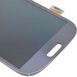 Высокое качество A + качество для Samsung Galaxy S3 i9300 i337 I747 T999 ЖК-дисплей с сенсорным экраном дигитайзер Ассамблеи бесплатная доставка cheap i337 lcd assembly от Поставщики сборка i337 lcd