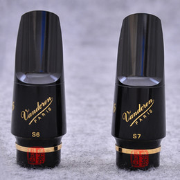 Wholesale Mouthpieces For Saxophone - Wholesale- Brand New Vandoren Soprano Saxophone Bakelite Mouthpiece Sax V16 S6 S7