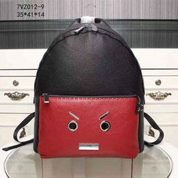 Wholesale Cute Lovely Bags - Cute Cartoon Pattern Fashion Backpack for Women Lovely Pretty Style School Bags with Interior Slot Pocket