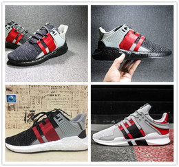 Wholesale Lace Up Winter Coats - 2017 New Arrival EQT Boost Support Running Shoes Men Women High Quality OverkillEQT Coat of Arms Pack Boost Support Athletic Shoes US 5-10