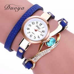 Wholesale Young Ladies Watches - Women Fashion Dress Watch Young Ladies Leather Quartz Watches Casual Vintage Sports Wristwatches New 2017 Hours