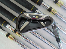 Wholesale R Promotions - Free Shipping Promotion M2 Golf Irons Set 4-9PS With Covers 9 Kind Shaft Steel Graphite Regular Stiff More Pics Contact Seller