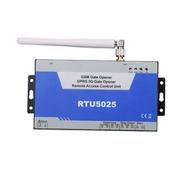 Wholesale Gate Slide - Wholesale- New RTU5025 GSM 3G Gate Opener Swing Sliding Garage Door Open Remote Controller Quad Band Factory Sell Support GPRS Communicate