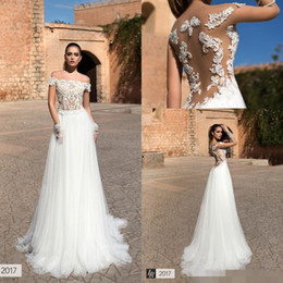 Wholesale Lace Bodice Princess Wedding Dress - Princess Victorian Wedding Dresses Short Sleeve 2017 Plus Size Vintage Lace Appliques Beads Tulle Illusion Bodice Long Wedding Bridal Gowns