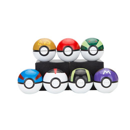 Wholesale Gift Boxes Cheap - Pokeball Herb Grinder 3 Layers 55mm*55mm Zinc alloy Grinder Wholesale Cheap With Gift Box Free Shipping